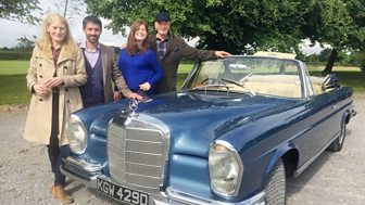 Celebrity Antiques Road Trip - Series 6: 2. Charles Dance And Geraldine James