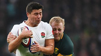 Rugby Union - 2016/2017: England V South Africa Highlights