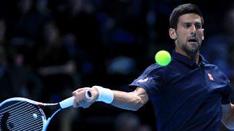 Tennis: World Tour Finals - 2016: Day 1: Djokovic V Thiem