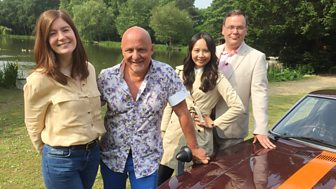 Celebrity Antiques Road Trip - Series 6: 9. Aldo Zilli And Ching He-huang