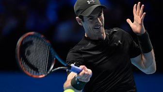 Tennis: World Tour Finals - 2016: Day 4: Murray V Nishikori