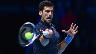 Tennis: World Tour Finals - 2016: Day 5: Djokovic V Goffin