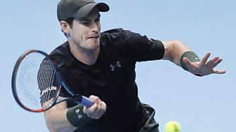Tennis: World Tour Finals - 2016: Day 6: Murray V Wawrinka