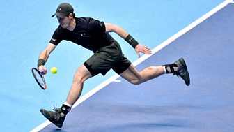 Tennis: World Tour Finals - 2016: Semi-final: Murray V Raonic - Part 1