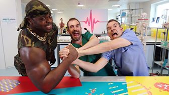 Operation Ouch! Hospital Takeover - 10. Jaw-dropping Jaws