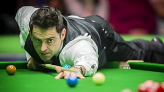Uk Snooker Championship - 2016: 24. Fourth Round: Afternoon Session