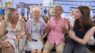 Celebrity Antiques Road Trip - Series 6: 20. Sarah Greene And Peter Duncan