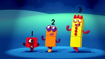 Numberblocks - Series 1: Three