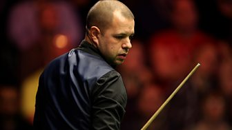 Masters Snooker - 2017: Semi-final: Joe Perry V Barry Hawkins