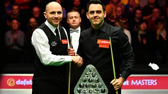 Masters Snooker - 2017: Final: Ronnie O'sullivan V Joe Perry - Part 1