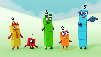 Numberblocks - Series 1: Off We Go
