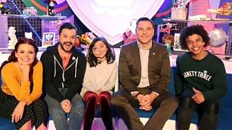 Blue Peter - David Walliams And A Bake!