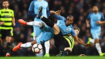 Fa Cup - 2016/17: Fifth Round Replay: Manchester City V Huddersfield Town