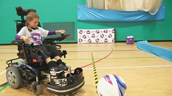 Footy Pups - Series 2: 30. Powerchair Football