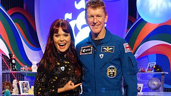Blue Peter - Tim Peake And A Space Make