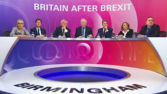 Question Time - Britain After Brexit