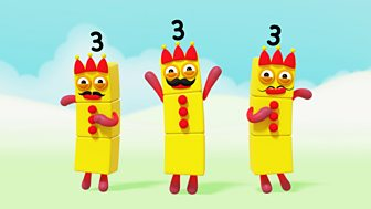 Numberblocks - Series 1: The Three Threes