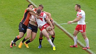 Rugby League: Challenge Cup - 2017: Sixth Round: Castleford V St Helens