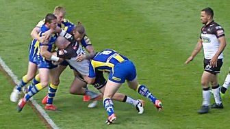 Rugby League: Challenge Cup - 2017: Sixth Round: Warrington V Widnes