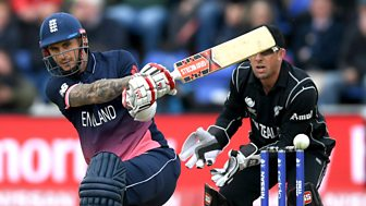 Cricket: Champions Trophy Highlights - 2017: England V New Zealand