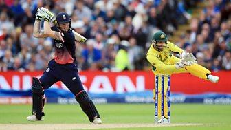 Cricket: Champions Trophy Highlights - 2017: England V Australia