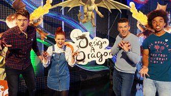 Blue Peter - Dragon Winner And Greg James!