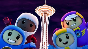Go Jetters - Series 2: 9. Seattle Space Needle, Usa