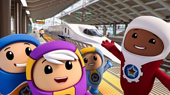 Go Jetters - Series 2: 14. Bullet Train, Japan