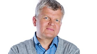 with Adrian Chiles