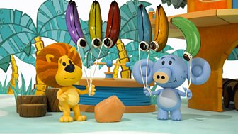 Raa Raa The Noisy Lion - Series 3: 7. Raa Raa And The Banana Balloons