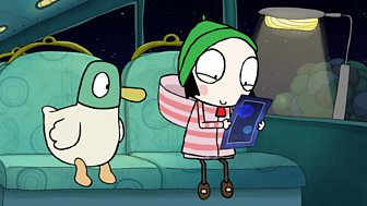 Sarah & Duck - Series 3: 32. Comet's Coming