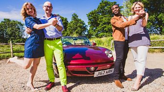 Celebrity Antiques Road Trip - Series 7: Episode 4