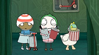 Sarah & Duck - Series 3: 38. Cinema Scoot