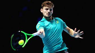 Tennis: World Tour Finals - 2017: Day 4 - Grigor Dimitrov V David Goffin
