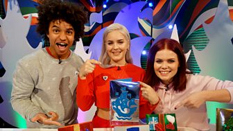 Blue Peter - Anne-marie And The Christmas Card!