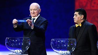 Match Of The Day Live - 2018 Fifa World Cup: Draw