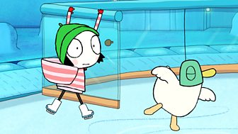 Sarah & Duck - Series 3: 39. Snowball Skate