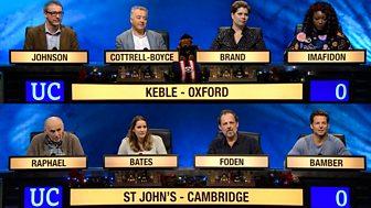 University Challenge - Christmas 2017: Semi-final 1