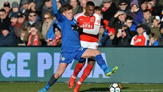 Fa Cup - 2017/18: Third Round: Fleetwood Town V Leicester City