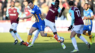 Fa Cup - 2017/18: Third Round: Shrewsbury Town V West Ham United