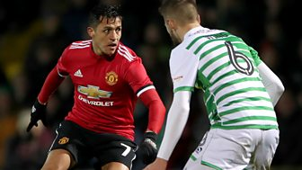 Fa Cup - 2017/18: Fourth Round: Yeovil Town V Manchester United