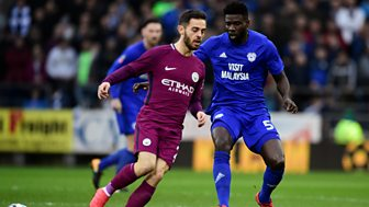 Fa Cup - 2017/18: Fourth Round: Cardiff City V Manchester City