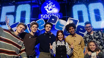 Blue Peter - 5,000th Show And A Brand New Badge!