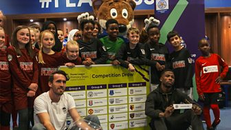 Motd Kickabout - Premier League Schools Tournament Draw