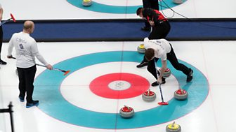 Winter Olympics - Bbc Two Day 5: Gb Men In Curling Action And Men's Doubles Luge