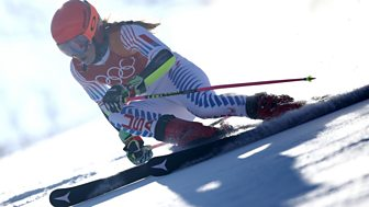 Winter Olympics - Bbc One Day 6: Women's Giant Slalom Final