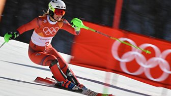 Winter Olympics - Bbc One Day 7: Women's Slalom And Men's Super-g Finals