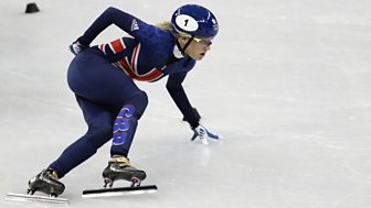 Winter Olympics - Bbc One Day 8: Women's Skeleton Final And Short-track Semi-final