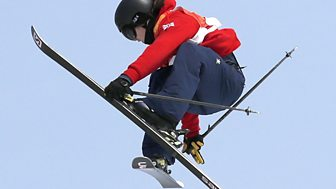 Winter Olympics - Bbc One Day 9: Gb's James Woods In Ski Slopestyle Final