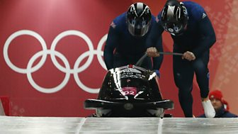 Winter Olympics - Bbc Two Day 9: Gb In Two-man Bobsleigh And Women's Skeleton Medal Ceremony